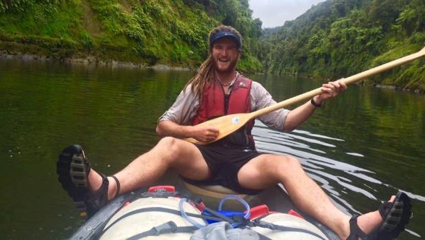Canoeing down the Whanganui River in January provided a welcome break from walking for part of the 3000km journey.