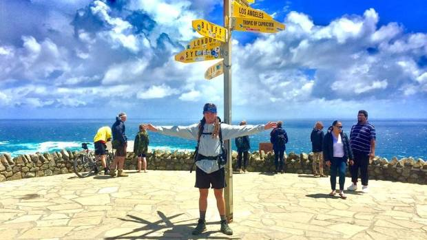Daniel Lee left Cape Reinga in November on his five-month, 3000km trek along the Te Araroa Trail to Bluff.