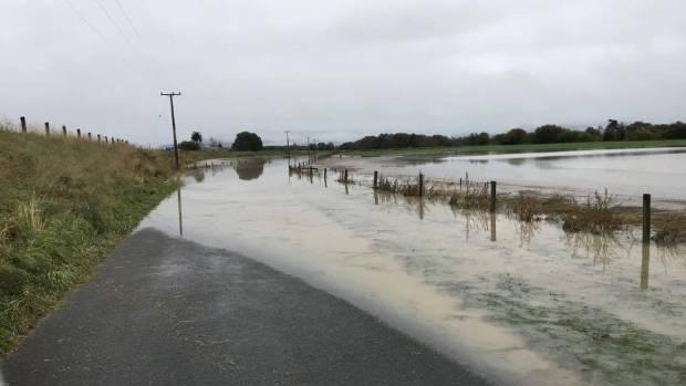 Flooding on Jones Rd.