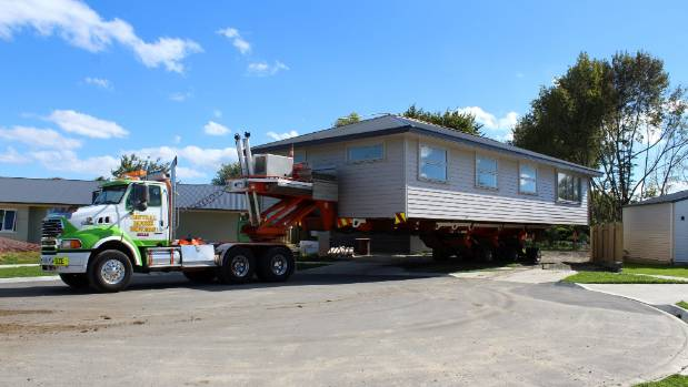 A house built by UCOL students has been situated in Wescombe Grove, Feilding.