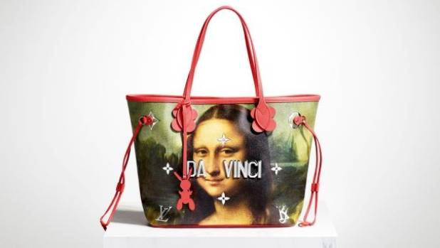 You can now buy the mona lisa on a louis vuitton bag by for Can you buy the mona lisa