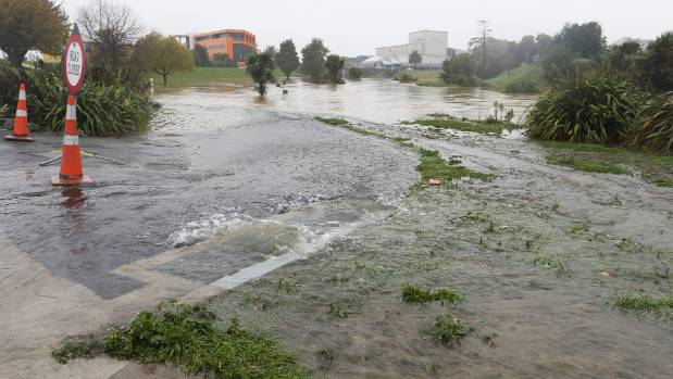 Public are asked to stay away from the Taylor River walkways in Blenheim.