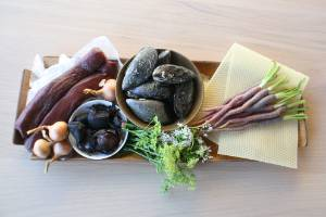 Ingredients used by Arbour in the Plate of Origin contest earlier this year.
