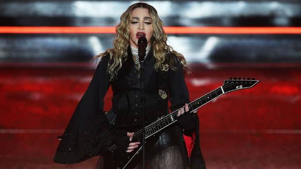 Pop star Madonna's full name is Madonna Louise Ciccone.