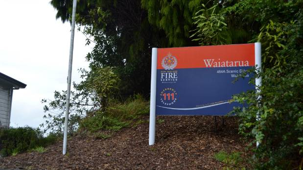 Waiatarua Fire Station has 22 volunteers.