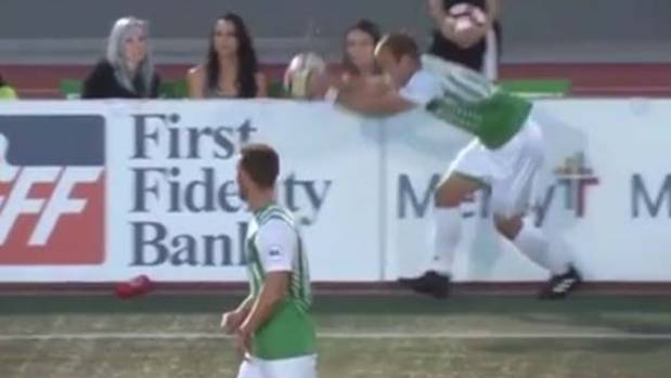 A flip throw set up an incredible goal for the OKC Energy in the United Soccer League.
