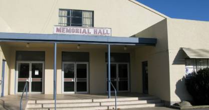The Cromwell Memorial Hall.