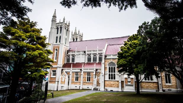 The Roman Catholic parish church in central Wellington was re-opened and blessed on Wednesday.