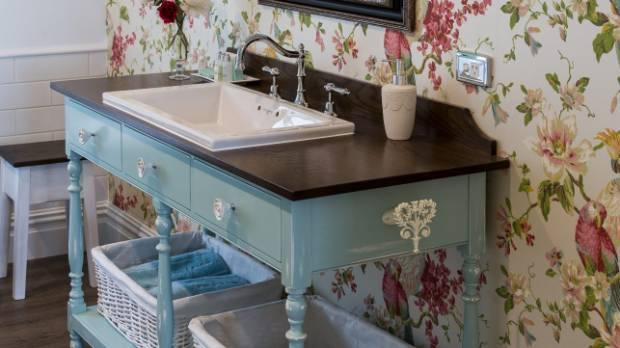 Bathroom Vanities Dunedin New Zealand upstyle files: convert your cabinet to a cool bathroom vanity