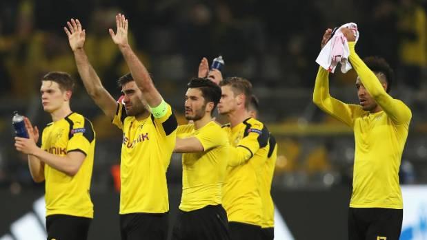 The Borussia Dortmund team were visibly shaken even after the tie was rescheduled.
