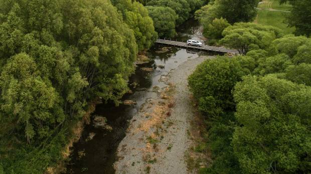 Councils are under pressure to reclaim some of the water permits they handed out decades ago. Pictured is Coes Ford on ...
