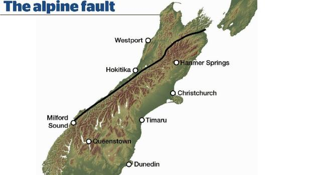 Simulations of how much the ground will move during a major Alpine Fault earthquake forecast a much higher intensity of ...