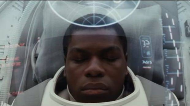 "John Boyega as a Star Wars stormtrooper-turned-good-guy. ""It's like things are only correct and proper if white people ..."