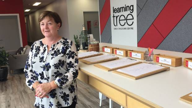 Learning Tree early education centre in Apollo Drive with owner Lynne Rice.