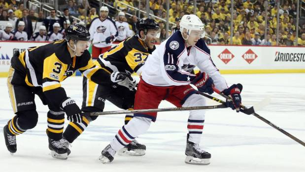 Blue Jackets bring fight against Penguins home to Columbus