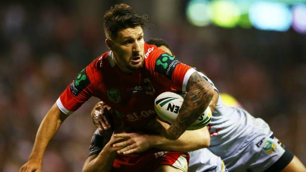 Widdop re-signs with NRL Dragons
