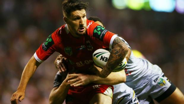 The Dragons will be without their English playmaker, Gareth Widdop.