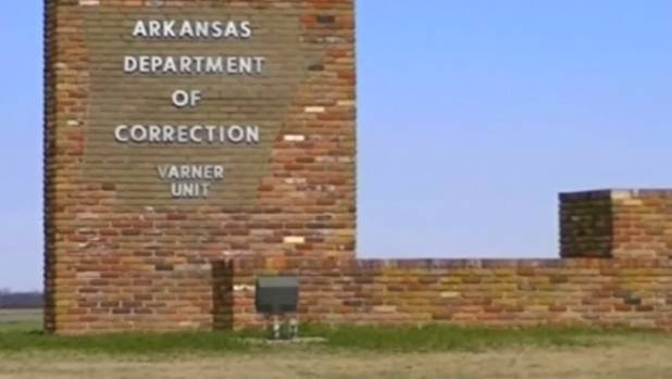 The Varner Unit in Arkansas where the men on death row are imprisoned.
