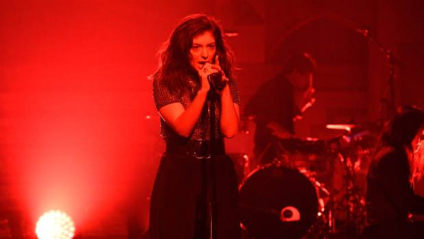 Lorde - shown here in Saturday Night Live -  is performing at the US' biggest art and music festival, Coachella, on Monday.