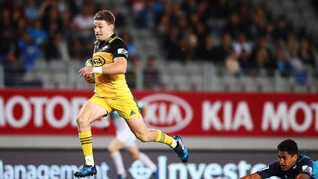 Beauden Barrett leaves most other players in his dust.