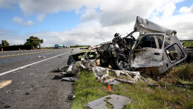 Fatal crash with tanker in Southland