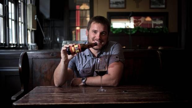 Soren Eriksen has again released his 'baddest' beer, Bumaye. Photo: Lawrence Smith / Fairfax NZ