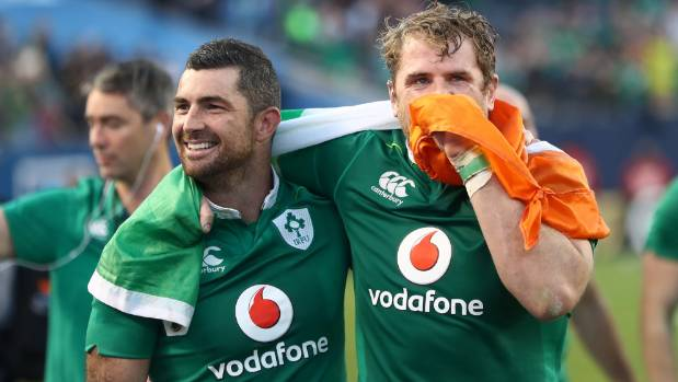 Irish eyes were smiling after they trumped the All Blacks in Chicago last year.