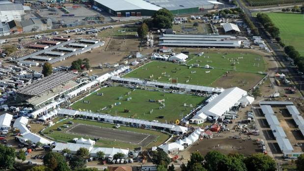The 1-year-old boy fell into a pond at the showgrounds in Hastings. (File photo)