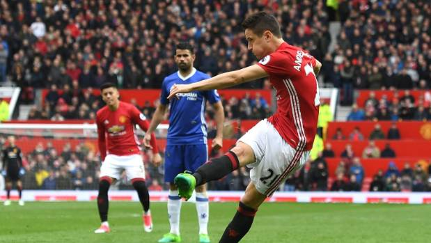 Ander Herrera scored Manchester United's second goal, but it was his defensive work on Chelsea's Eden Hazard that drew ...