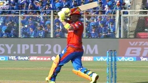Brendon McCullum continued his strong run of form in the IPL as his Gujarat Lions side got the better of the Kolkata ...