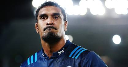 Rugged Blues loose forward Jerome Kaino has collected an untimely knee injury.