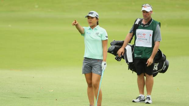 Lydia Ko and former caddie Gary Matthews, pictured together in Singapore last year, worked together for just half a year.