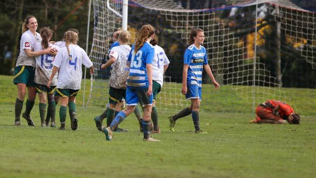 Cashmere Technical, pictured beating Tasman United in an earlier match, edged out the Nelson-based team 1-0 on Easter Monday.