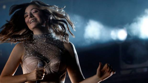 Lorde performs during the Coachella Valley Music and Arts Festival in California, US.
