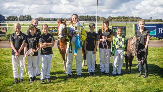 Nine young drivers competed over six races during the Hawera Harness Racing Club's Easter 2017 meeting.
