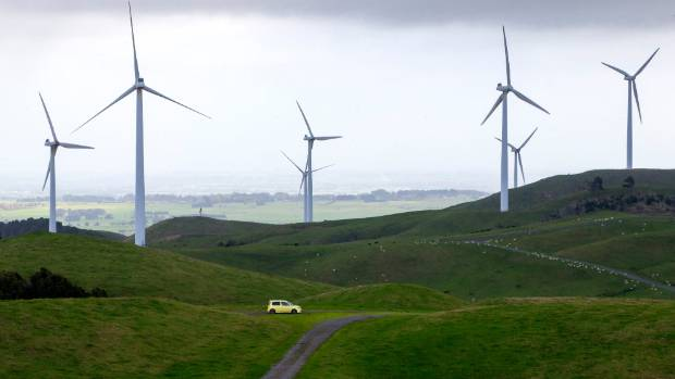 Resource consents needed for a plan to build a wind farm at Waverley have been granted. File photo.