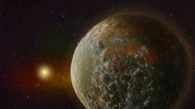 'Super-Earth' MOA-2012-BLG-505Lb is about 24,000 light years away from earth.
