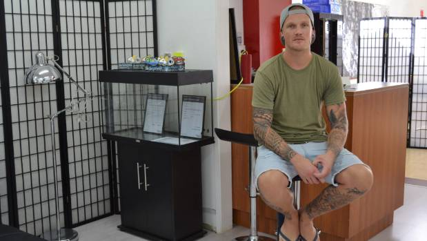 Ink Rush Tattoos owner and tattoo artist Sam Clayton.