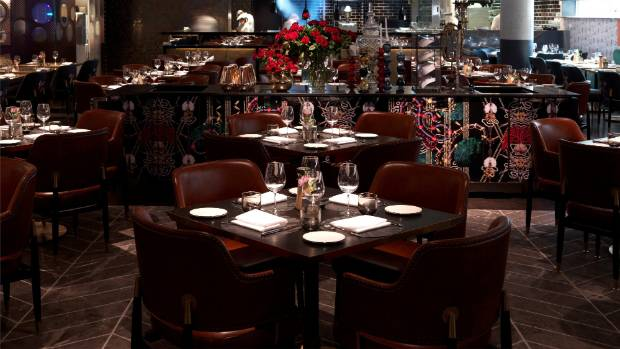 The elegant Pascale Bar and Grill inside the QT Melbourne.