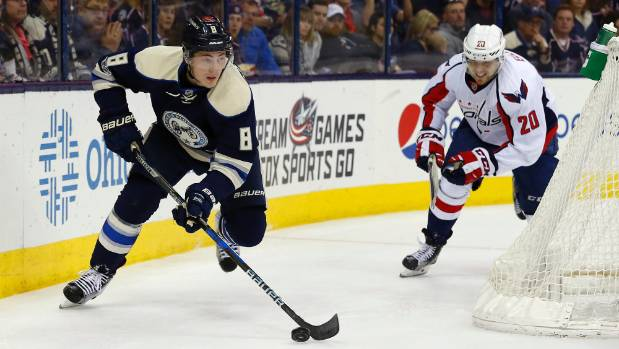 Jackets' Calvert banned 1 game for cross-check