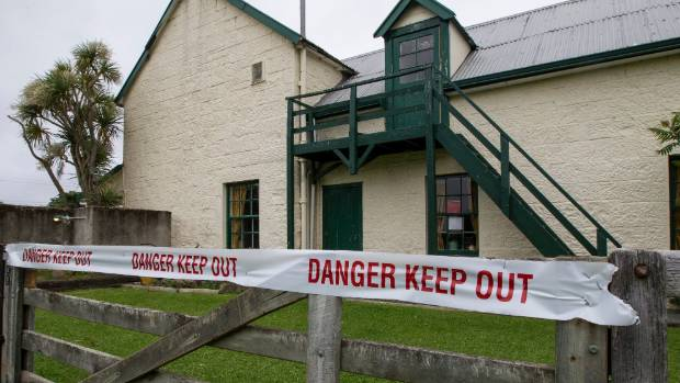 Repairs to the damaged gables of the Hurunui Hotel could see it reclassified as safe to use.