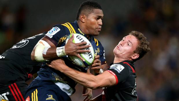 Highlanders rugby winger Waisake Naholo is available for selection after playing club rugby at the weekend.