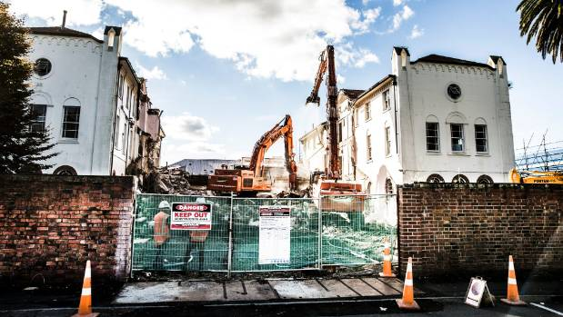 Hamilton's Euphrasie House was being demolished on Tuesday. A passionate group of locals have lost the battle to save ...