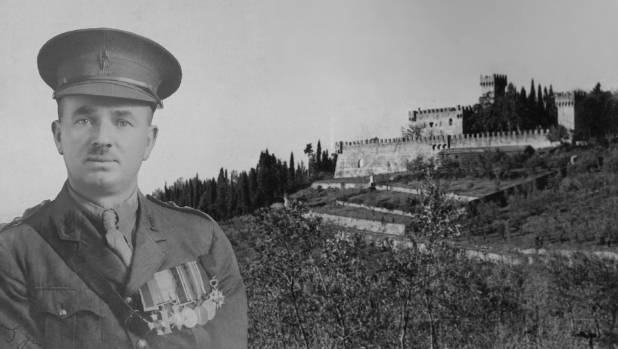 Brigadier James Hargest and Vincigliata Castle where he was imprisoned.