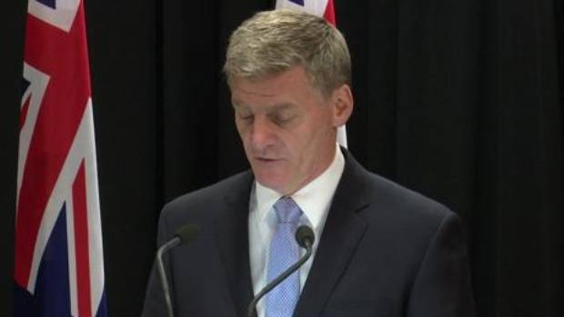 "Prime Minister Bill English foreshadows changes to ""better control"" immigration."