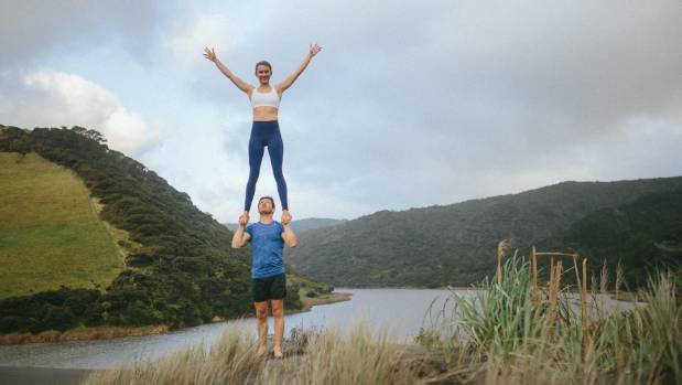 Zanthe Watson and Colin Prinn co-founders of the New Zealand Acrobatics Festival held from April 21-23 in Auckland.