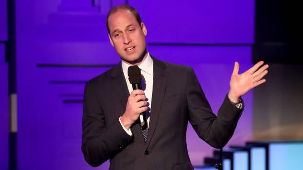 Prince William warns 'stiff upper lip' can damage mental health