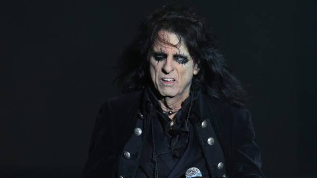 Alice Cooper returns for New Zealand horror show