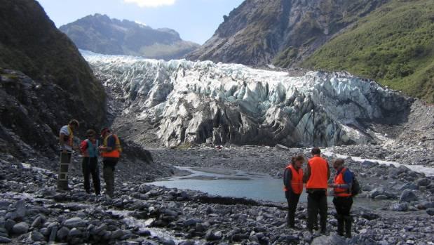 Fox Glacier in 2009.
