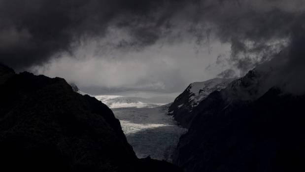 Fox Glacier is now 12km long. In 1900 it was about 15km.